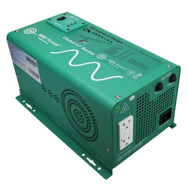 Aims Power PICOGLF12W RV Pure Sine Wave Power Inverter / Charger - 1250 Watt