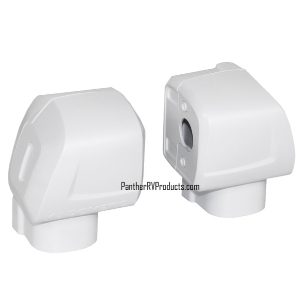 Dometic™ A&E 3317085.000B OEM RV Awning Arm End Cap Cover Kit - White