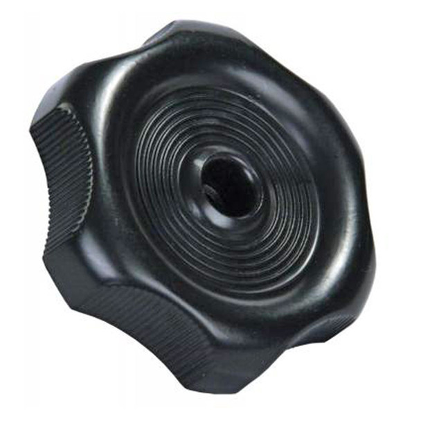 "JR Products 20345 RV Window Crank Knob - Black - 7/8"" Shaft"