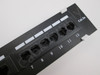 Cable Matters 12-Port Cat6 / Cat 6 Vertical Mini Patch Panel with 89D Bracket