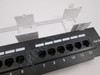 Tripp Lite 12-Port Wallmount Cat5e Patch Panel 568B, RJ45 Ethernet(N050-012)