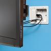 Arlington wall mount Low Profile TV Box AC Power and AV Cable Box TVL508
