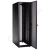 "Axis Server Rack, 84"" Tall, 45U Pre-Configured Model with Single Mesh Front and Rear Door CCP84EQB1SBSS3"