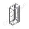 """Axis Server Rack, 84"""" Tall, 45U Pre-Configured Model with Single Mesh Front and Rear Door CCP84EQB1SBSS3"""