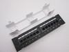 Cat6, Cat5E Vertical Wall-Mount Mini Patch Panel 12 Port