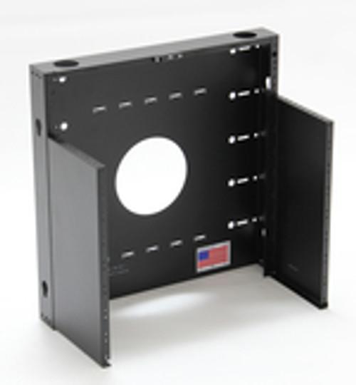 MRQ100V06 , DATA RACK, 6U , MiniRack Open from Black Hawk Labs