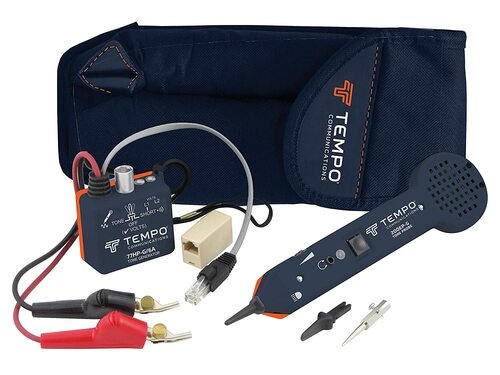 Tone Generator and Probe Kit with ABN Test Clips From TEMPO - Professional Wire Tracer Kit