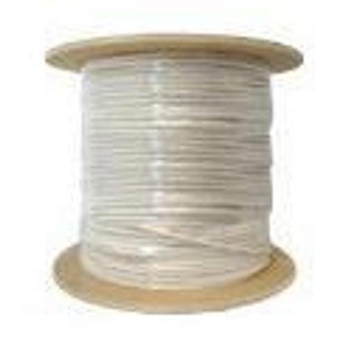 RG59 Coaxial Cable CMP/Plenum 1000ft White Bulk Cable