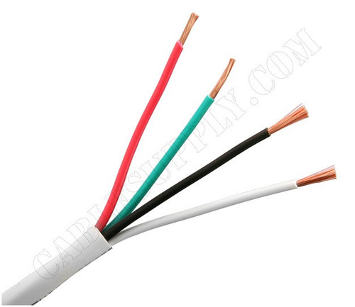 16 Gauge Speaker Cable 500 Foot White