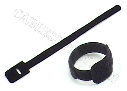 12in Economy Hook and Loop Cable Ties 100 Pack