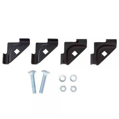 Junction T Kit for Ladder Rack Black by DAMAC