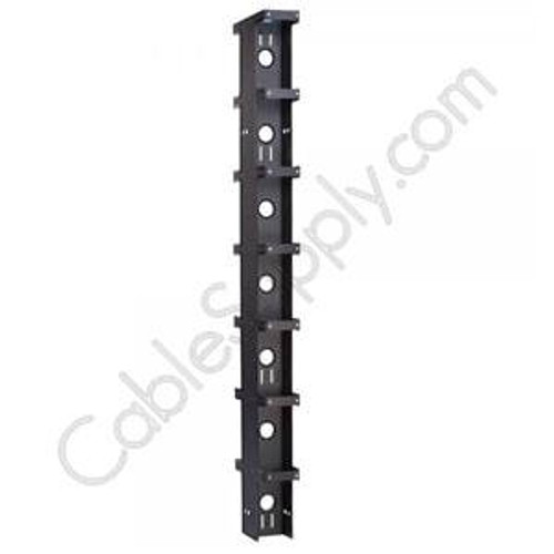 Vertical Double Sided Cable Manager (Aluminum Vertical Cable Manager) DAMAC