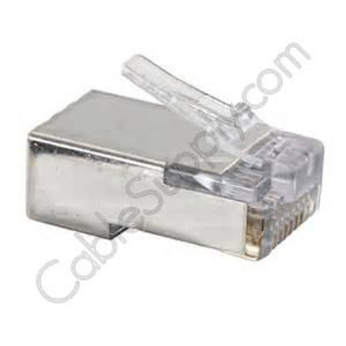 Cat5E and Cat6 EZ RJ45 Shielded Modular Plug by Platinum Tools