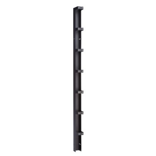 Double Sided Vertical Cable Manager 84in x 3.65in x 12.75in