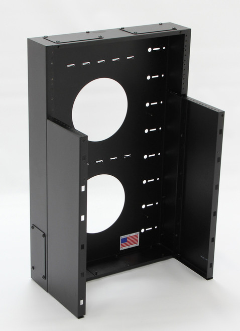 Vertical data rack by CableSupply.com
