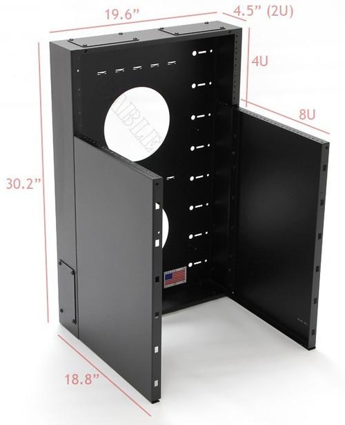 Vertical data racks by CableSupply.com