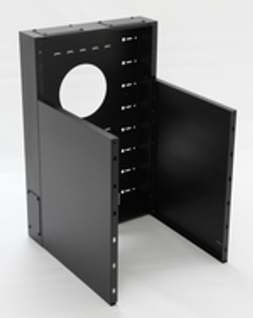 12U + 4U Vertical MiniRaQ Convertible - Compact by Black Hawk Labs