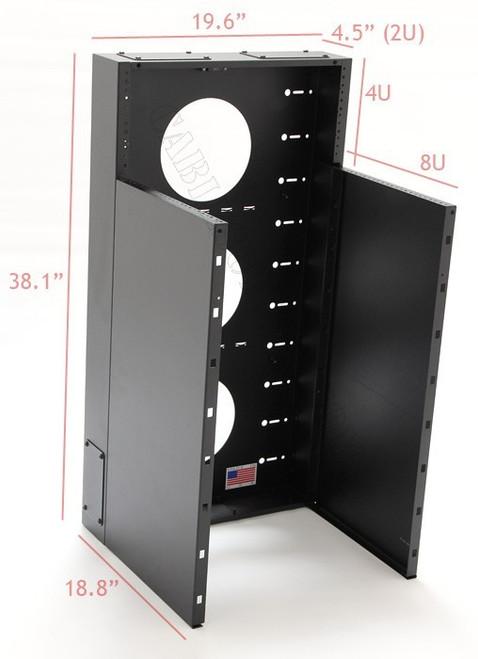 BLACK HAWK LABS MRQ301V12 12 U DATA RACK