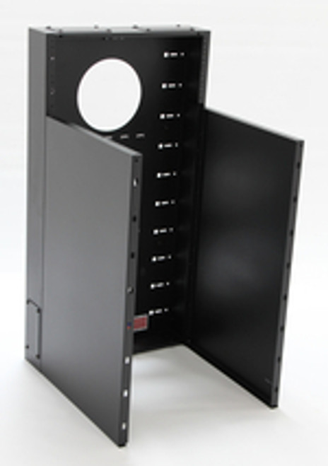 12U + 4U Vertical MiniRaQ Convertible - Tall by Black Hawk Labs MRQ301V16