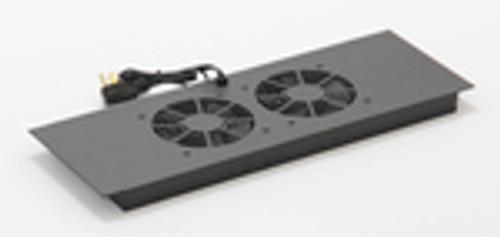 Vertical MiniRaQ Secure Series 10U Fan Tray by Black Hawk Labs BH2029
