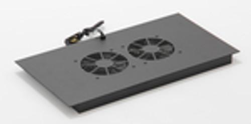 Vertical MiniRaQ Secure Series 12U Fan Tray by Black Hawk Labs BH2030