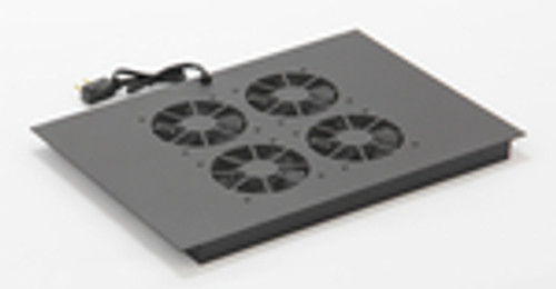 Vertical MiniRaQ Secure Series 14U Fan Tray by Black Hawk Labs BH2031