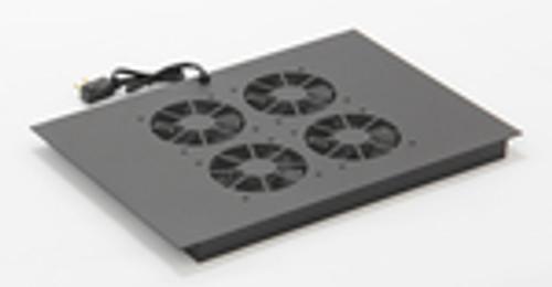 Vertical MiniRaQ Secure Series 14U Fan Tray by Black Hawk Labs BH2031