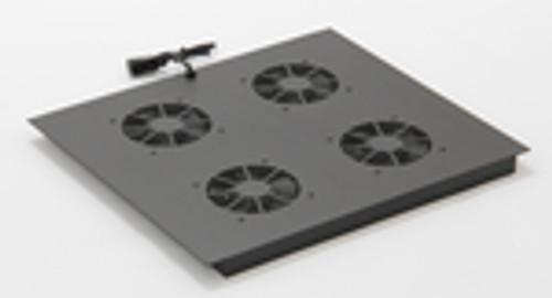 Vertical MiniRaQ Secure Series 16U Fan Tray by Black Hawk Labs BH2030