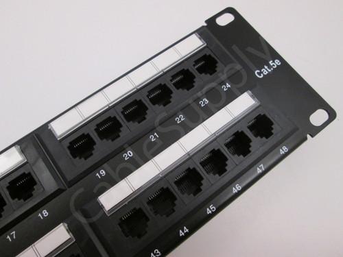 Cat5e Computer Patch Panel 48 Port 2U