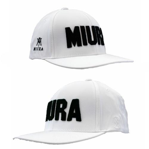 Miura GFORE Hats - White Side