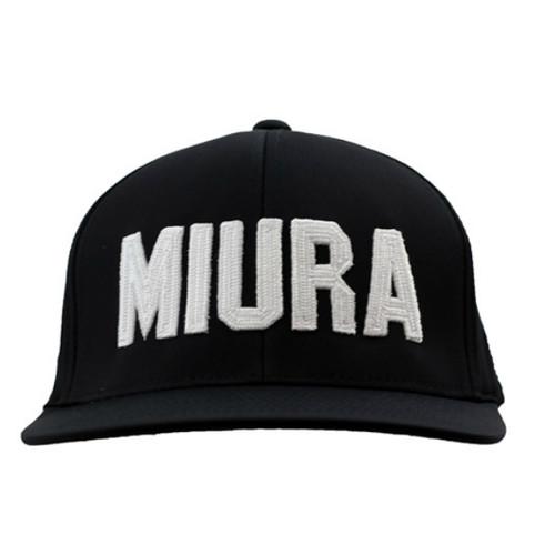Miura GFORE Hats - Black Front