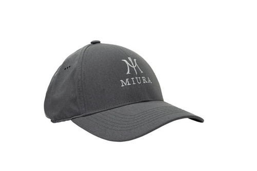 Miura Performance Tech Hats - Charcoal Front