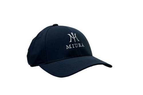Miura Performance Tech Hats - Navy Front
