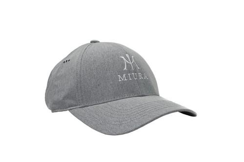 Miura Performance Tech Hats - Grey Front