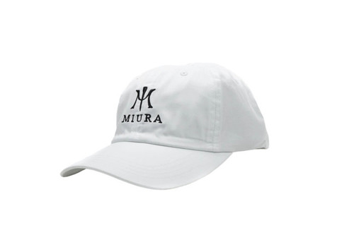 Miura Unstructured Hats White/Black