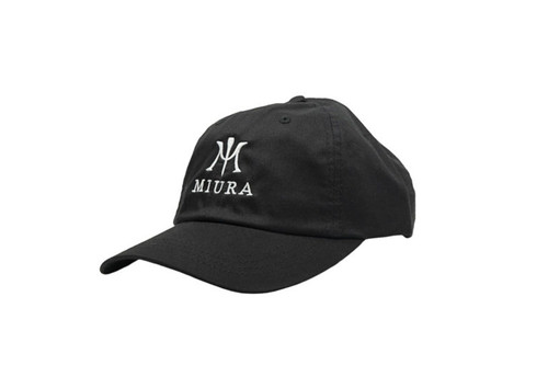Miura Unstructured Hats Black/White