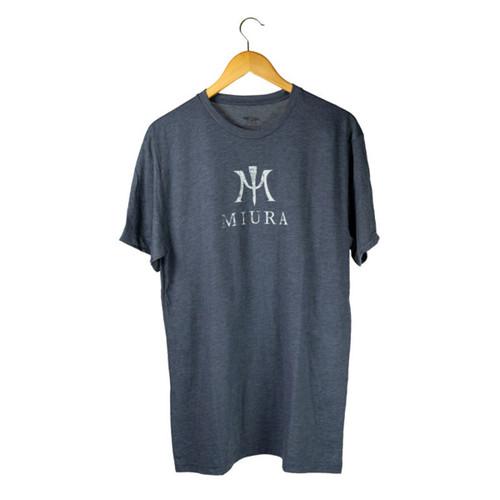 Miura Heather Navy/White T-Shirts