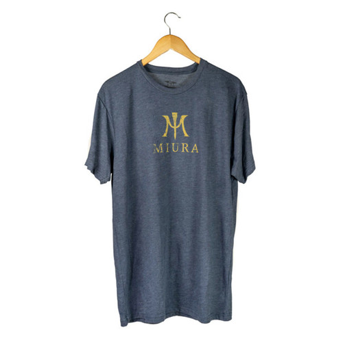 Miura Heather Navy/Gold T-Shirts