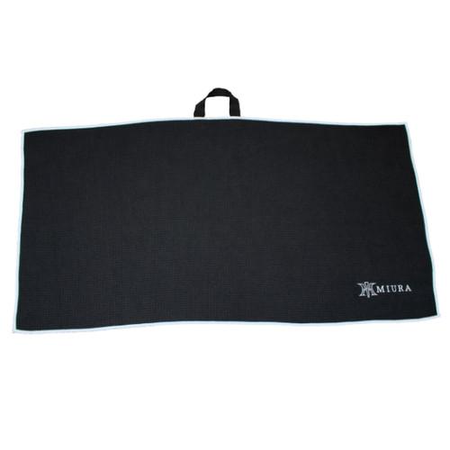 Black Miura Golf Towel