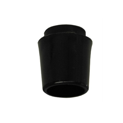 "1/2"" x .370"" parallel tip Collared Ferrule - Black"
