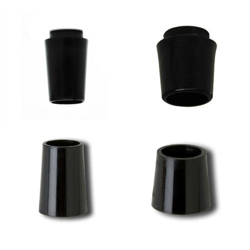 Ferrules .355 Taper Tip - Black