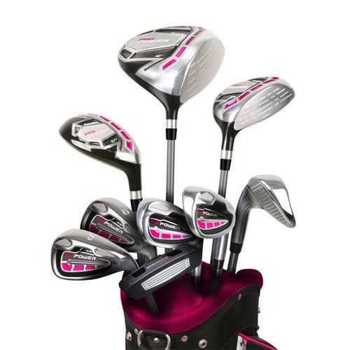 Powerbilt Pro Power Womens 14 Piece Golf Set
