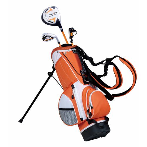 Powerbilt LH Boys Orange Series Golf Set