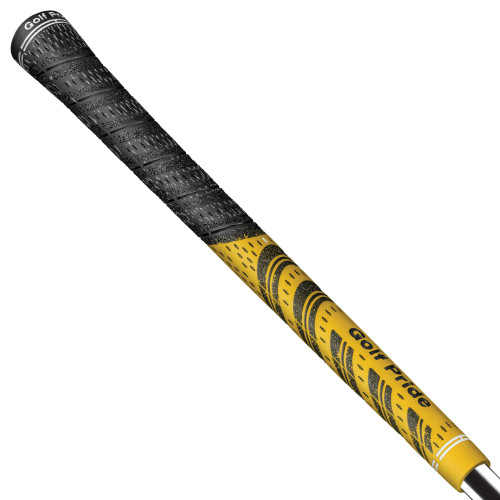 Golf Pride New Decade MCC MultiCompound Golf Club Grips Round Core Yellow