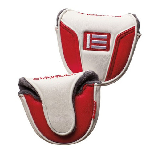 EVNRoll Mallet Putter Head Covers Red