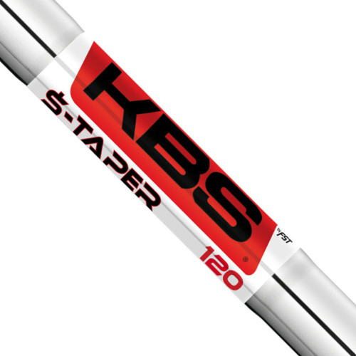 KBS $-Taper Chrome Iron Shafts - 355 - TT - Steel