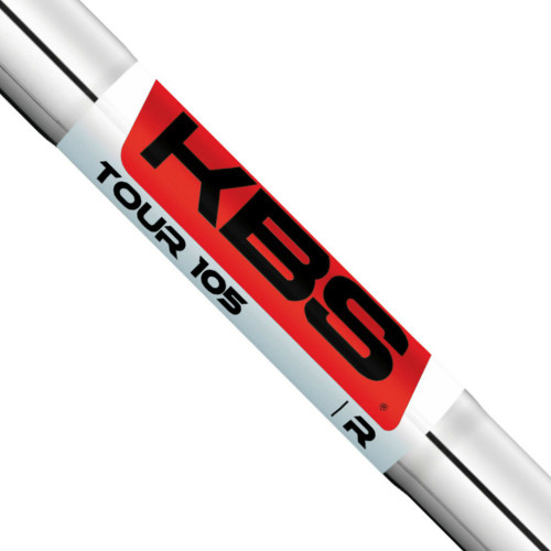 KBS Tour 105 Iron Shafts - 355 TT - Steel