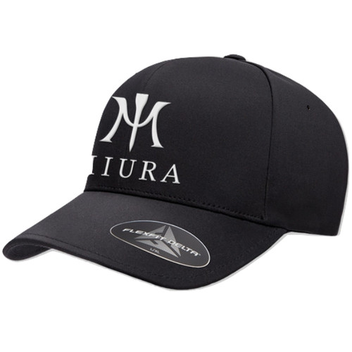 Miura FlexFit Delta Hats Black