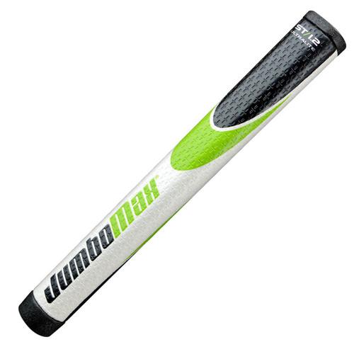 JumboMax ST/1.2 Jumbo Putter Grips - Black / Green / White
