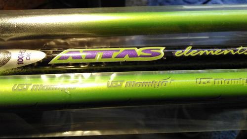UST Mamiya Attas Elements prototype Hybrid - 100X - Graphite - .370  Tip